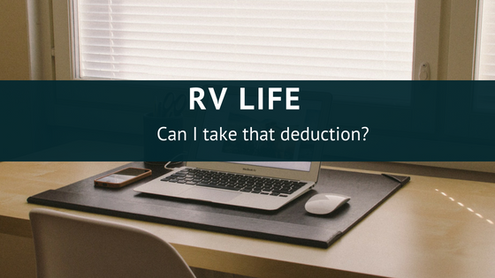 tax deductions for RV owners