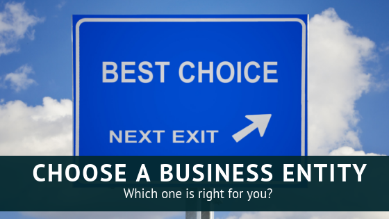 choosing a business entity