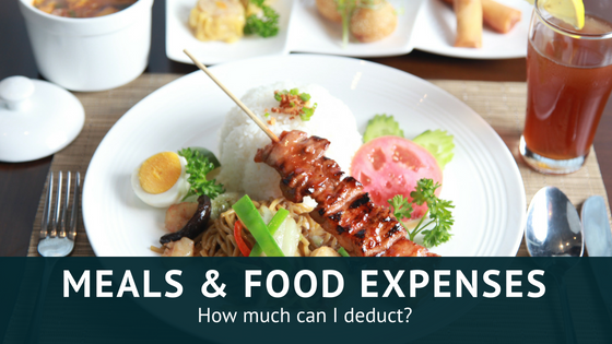 How to handle meals and food-related expenses in 2018