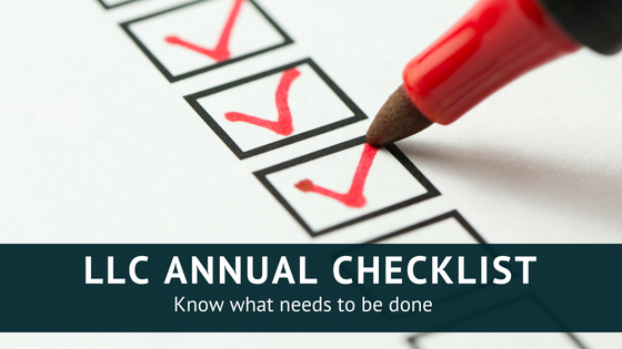 Annual LLC Checklist: 4 Simple Steps to Keep Your Business in Good Standing