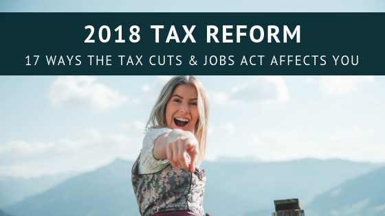 tax cuts and jobs act affects you