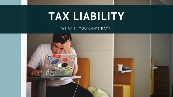 pay your tax liability