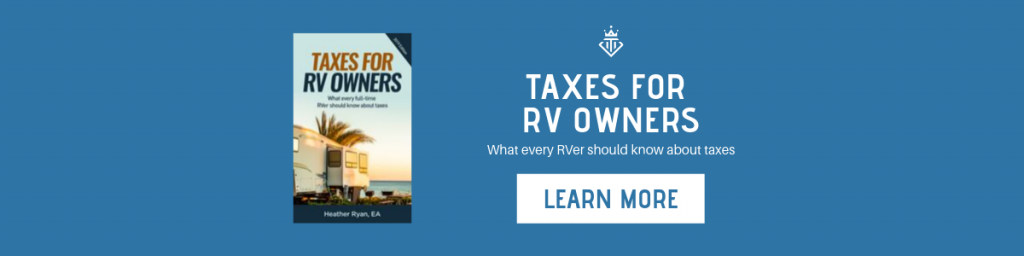 Taxes for RV Owners Ebook