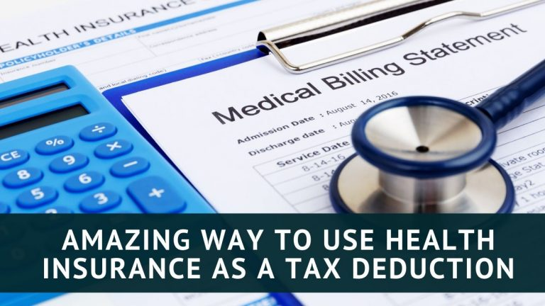 Amazing Way to Take Health insurance as a Tax Deduction